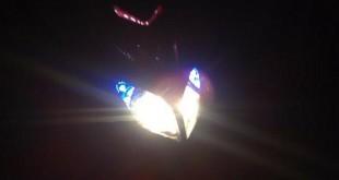 Có bị phạt không nếu bất ngờ xe máy cháy đèn pha?