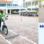Thủ tục thi bằng lái xe máy 2015
