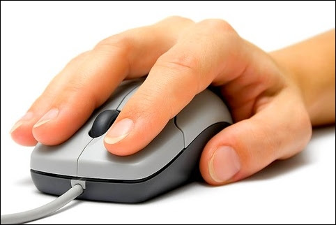 Dùng chuột máy tính