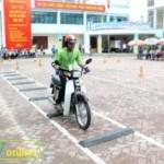 Những điểm mới thi bằng lái xe máy TP HCM 2015