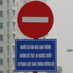 Đi vào đường ngược chiều phạt bao nhiêu tiền?