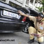 Cách gắn biển số xe ô tô như thế nào?