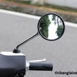 Bí kíp lắp gương xe máy để không bị phạt