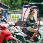 Có phạm luật không nếu sử dụng tai nghe khi đi xe máy?