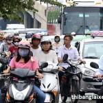 Xe máy không mua phí đường bộ bị xử phạt như thế nào?