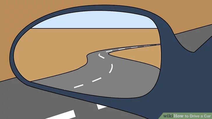 Điều chỉnh gương xe để có góc nhìn tốt nhất