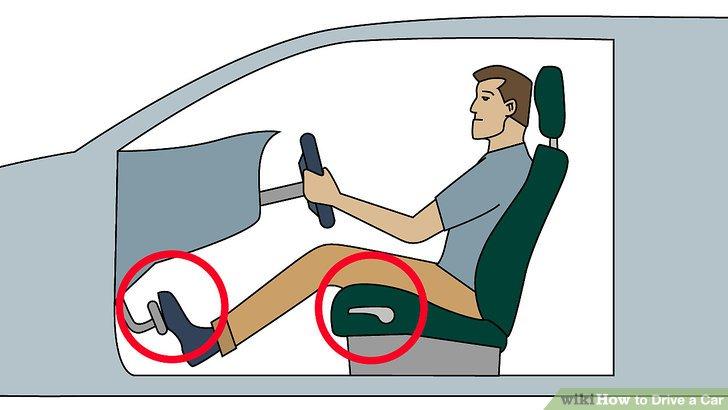 Thoải mái với vị trí ngồi lái xe