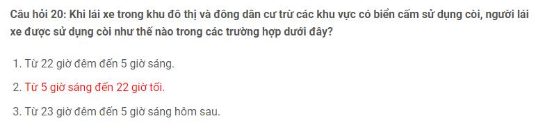 Câu hỏi 20