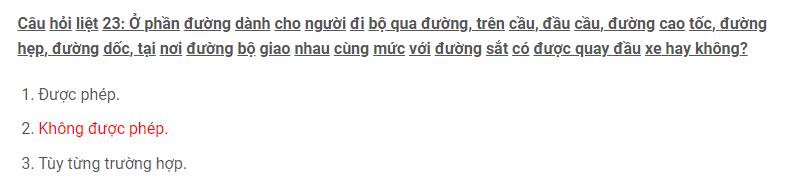 Câu hỏi 23