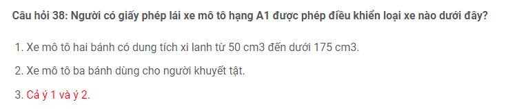 Câu hỏi 38